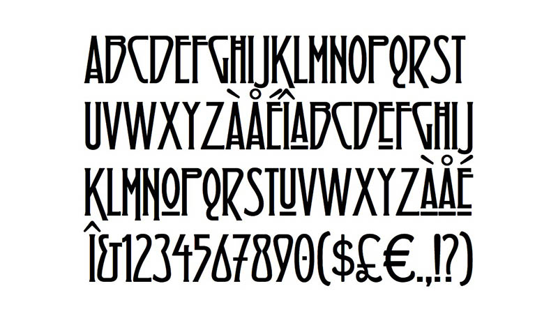 Led Zeppelin Font Family Download