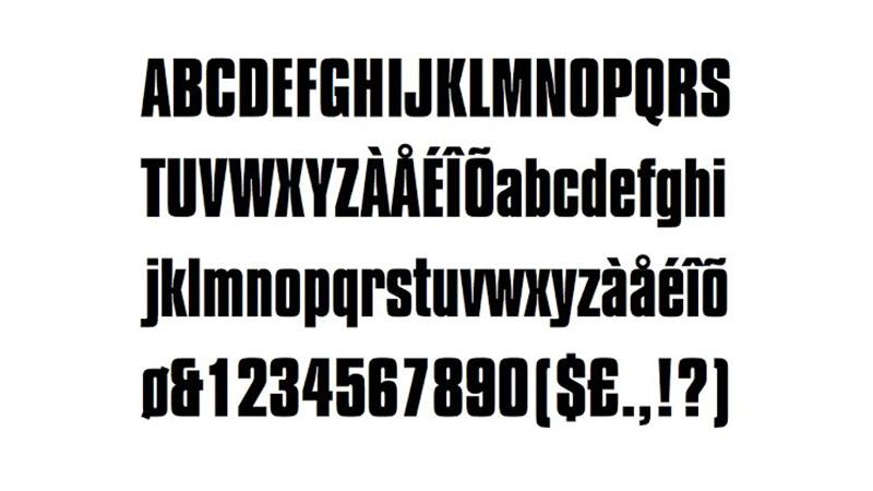 My Hero Academia Font Free Download
