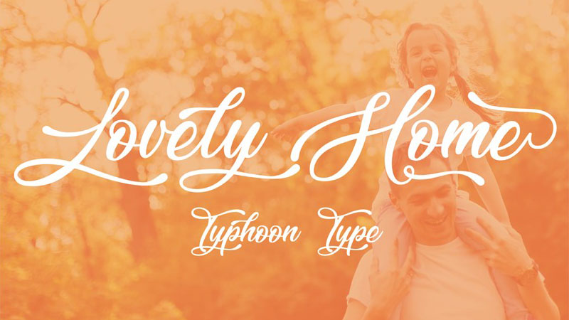 Lovely Home Font Family Free Download