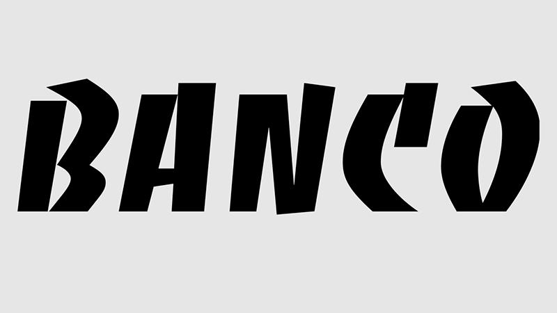 Banco Font Family Free Download