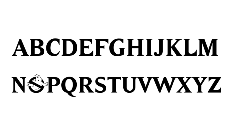 Ghostbusters Font Family Download