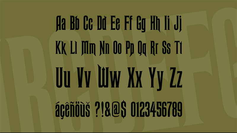 Haunted Mansion Font Free Download