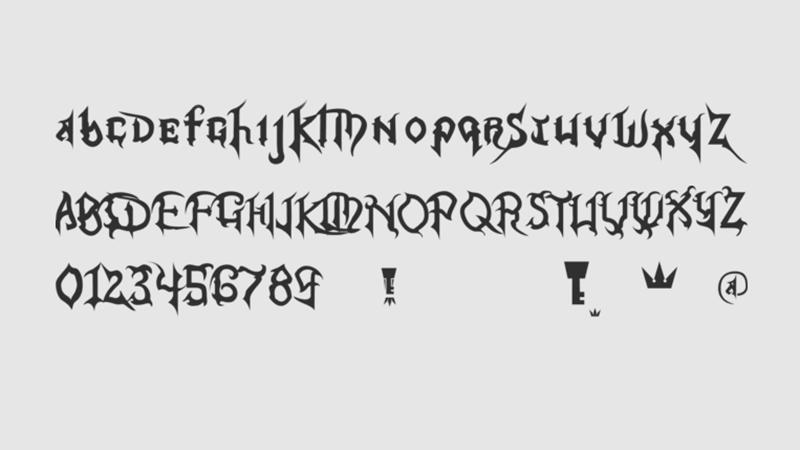 Kingdom Hearts Font Free Download